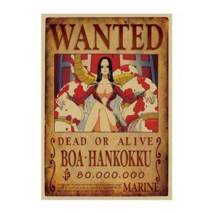 poster one piece boa hancock