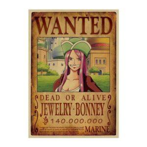 poster one piece jewelry bonney