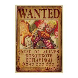 poster one piece doflamingo