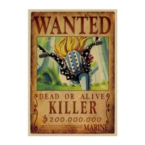 poster one piece killer
