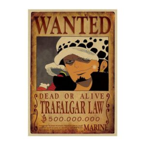 poster one piece law