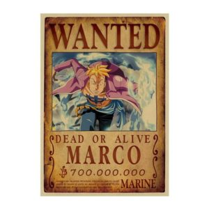 poster one piece marco