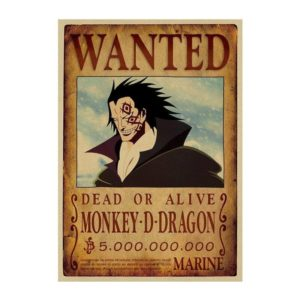 poster one piece dragon