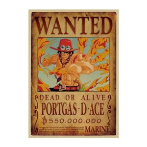 poster one piece ace