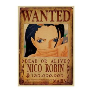 poster one piece robin