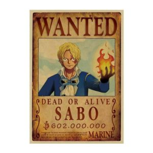 poster one piece sabo