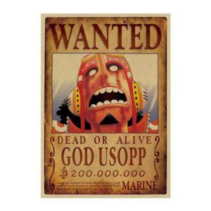 poster one piece usopp