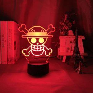 lampe one piece chapeau de paille