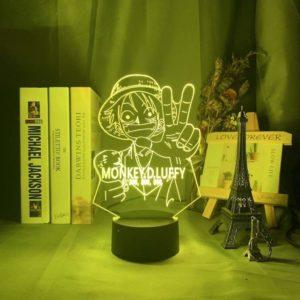 lampe one piece monkey d. luffy