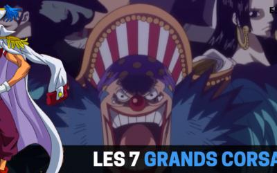 One Piece : Les 7 Grands Corsaires