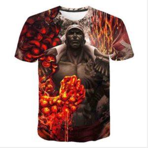 t-shirt one piece akainu