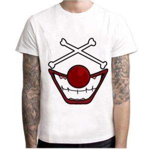 t-shirt one piece baggy le clown