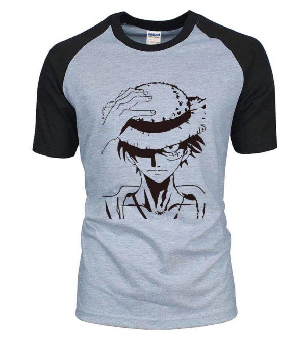 t-shirt one piece luffy