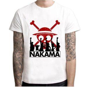t-shirt one piece nakama