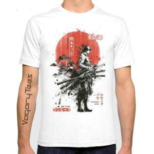 t-shirt one piece zoro