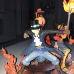 FIGURINE ONE PIECE LUFFY ACE ET SABO photo review