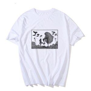 t-shirt one piece doflamingo vs luffy