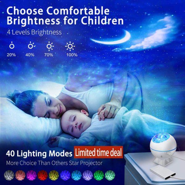 Projecteur océan étoilé veilleuse enfant