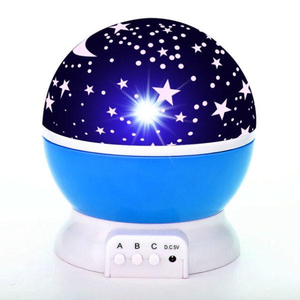 veilleuse-enfant-étoile-bleu