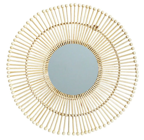Un-miroir-de-style-avec-un-modèle-en-soleil-Jabilune