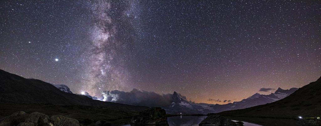 terre et étoile