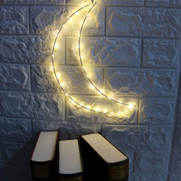Lampe-lune-murale-décorative-LED