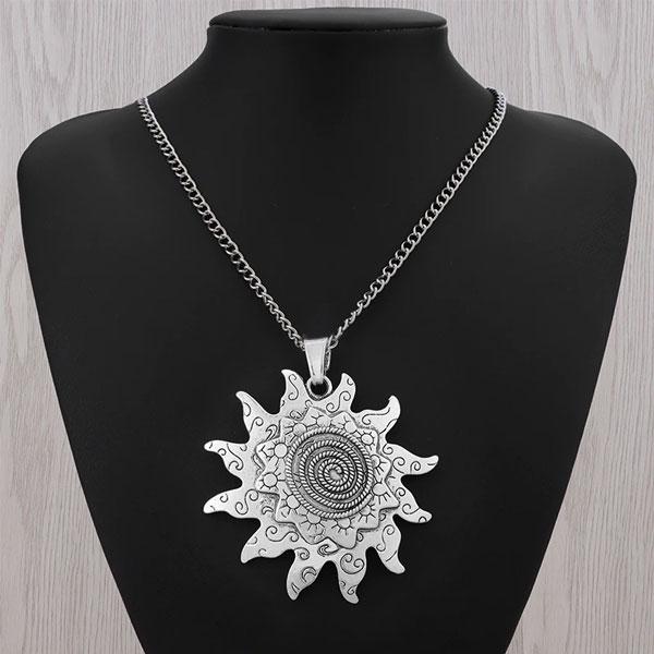 Collier-fleur-de-soleil-tibétain-jabilune