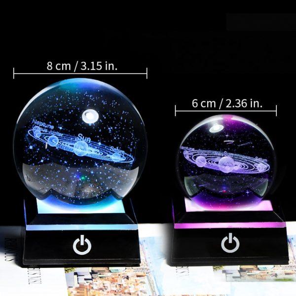 taille globe en verre 8 cm 6 cm