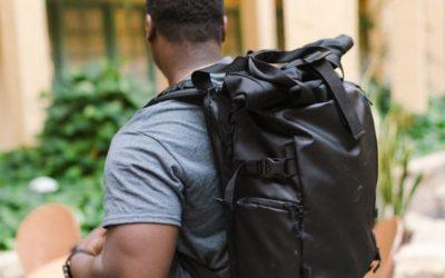 Sac à dos noir pour hommes – polyvalence et style classique