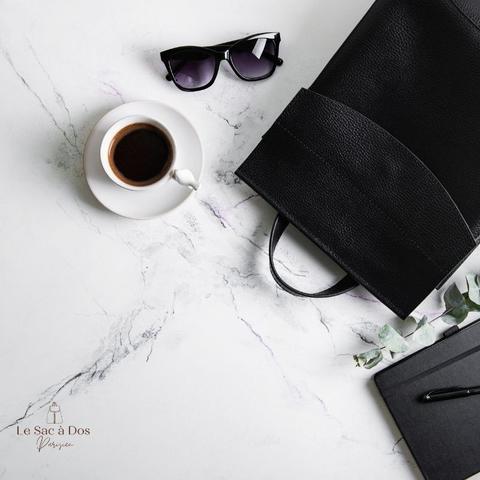 Sac à dos noir pour hommes - polyvalence et style classique