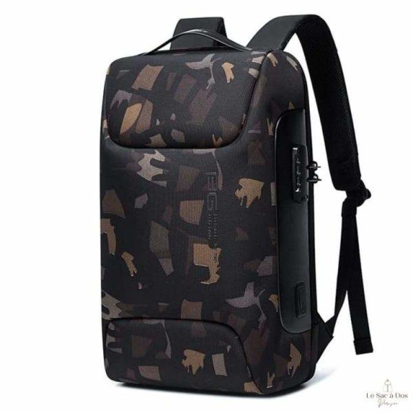 Sac à Dos Kerr Antivol - Camouflage / 47 x 30 x 16cm