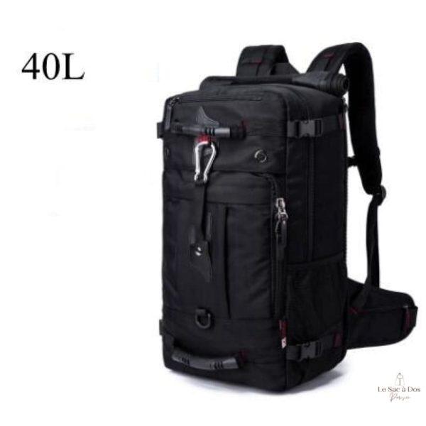 Sac à Dos Le Martre de Voyage - 40L Noir