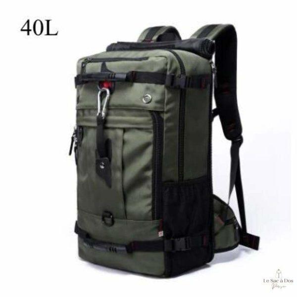 Sac à Dos Le Martre de Voyage - 40L Vert armé