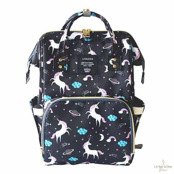 Sac à Dos Maternité Maranhao - black unicorn - Sacs à