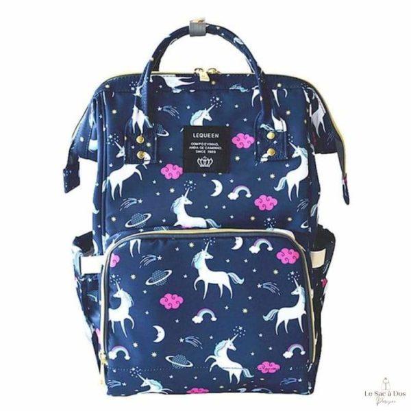 Sac à Dos Maternité Maranhao - blue unicorn - Sacs à couches