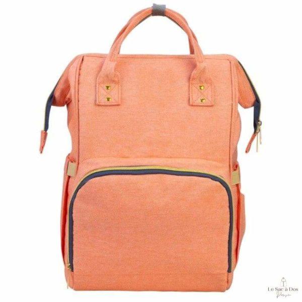 Sac à Dos Maternité Maranhao - Orange - Sacs à couches