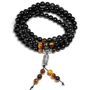Bracelet Oeil De Tigre Bouddhisme