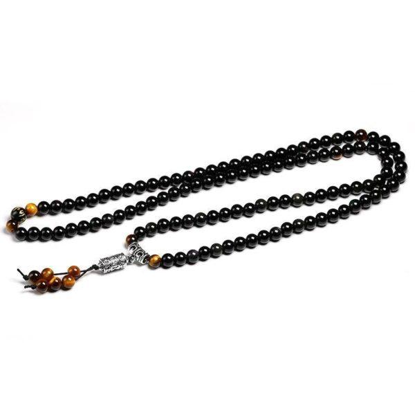 Bracelet Oeil De Tigre Bouddhisme Etalé