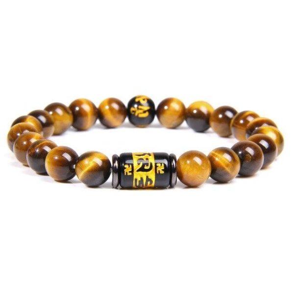 Bracelet Oeil De Tigre Runes