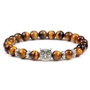Bracelet Oeil De Tigre Hibou