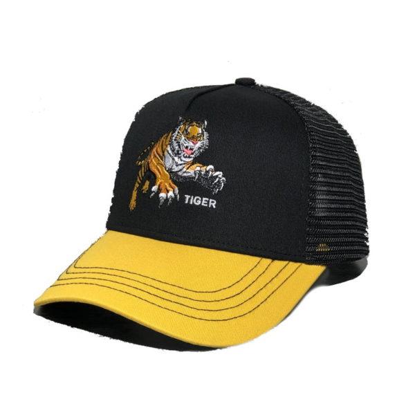 Casquette Tigre Sauvage jaune