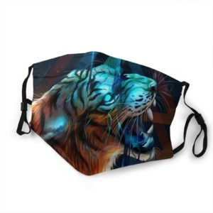 masque tigre possession feroce