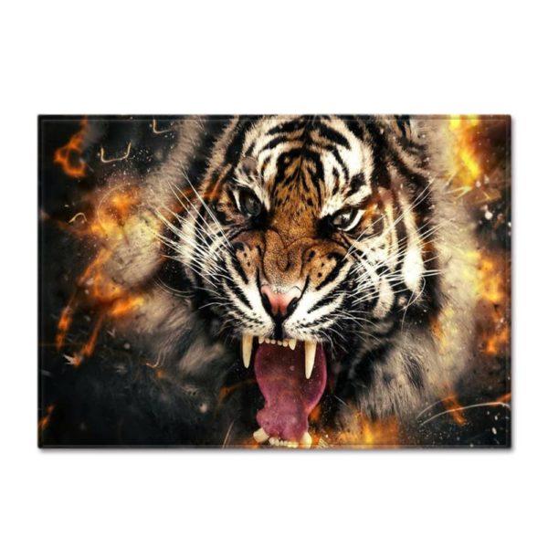 tapis tigre bestial
