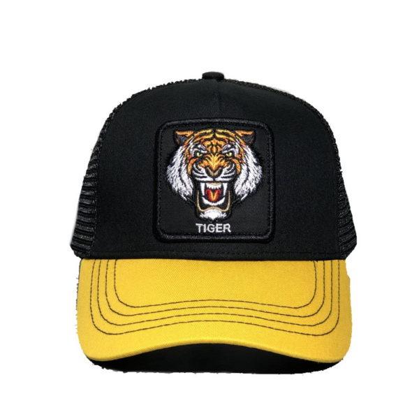 Casquette Tigre Bestial jaune