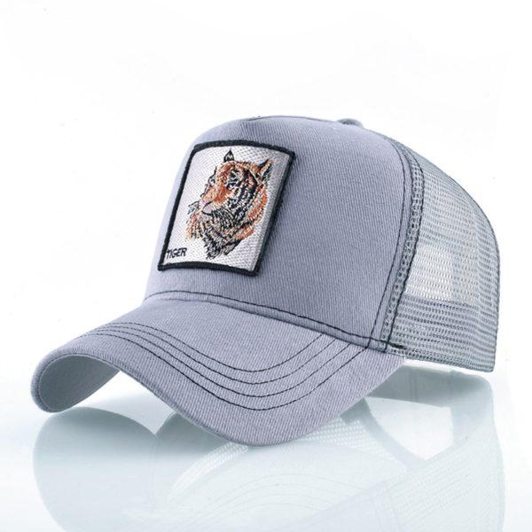 Casquette Tigre Head Bête