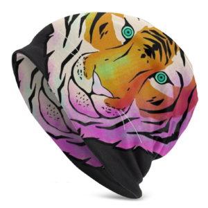 Bonnet Tigre Psychédélique
