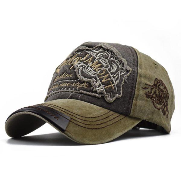 Casquette Tigre Cap Tiger Head
