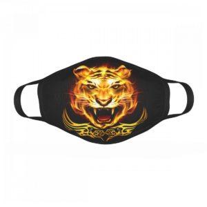 Masque Tigre Brûlant