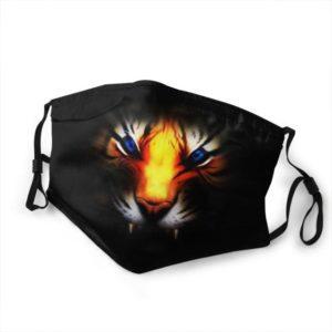 Masque Tigre Dans l'Obscurité