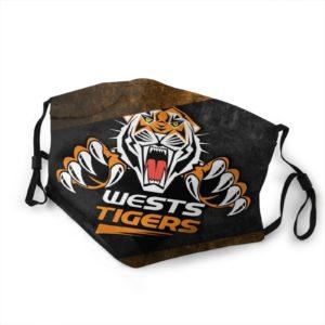 Masque Tigre Wests Tigers